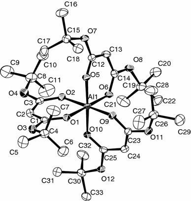 Molecular structure of 1d (hydrogen atoms omitted for clarity)