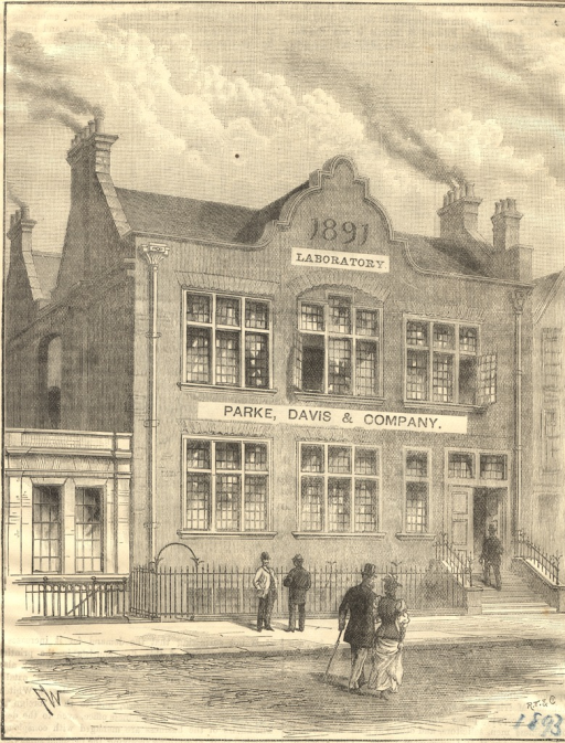 <p>Facʹade of the laboratory erected in 1891.</p>
