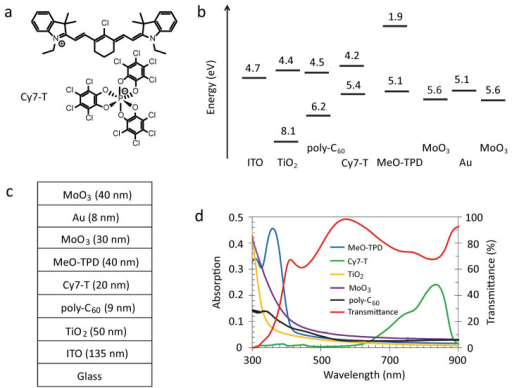 Molecular Structure Of The Cyanine Dye Schematic Of Th Open I