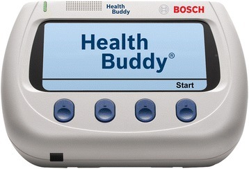 Health Buddy device.