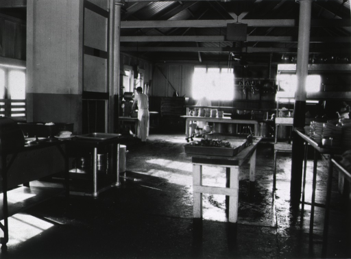 <p>Kitchen interior.</p>