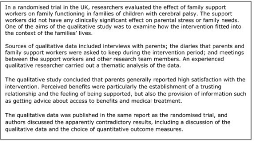thematic analysis example report