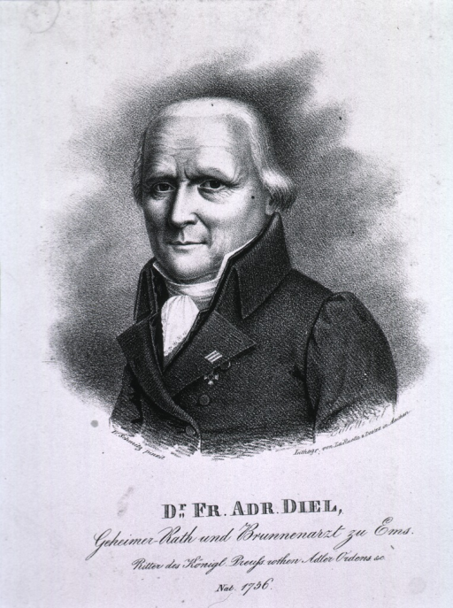 <p>Head and shoulders, left pose, as an old man.</p>