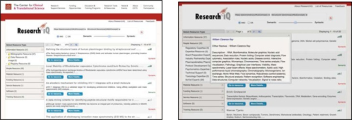 ResearchIQ User Interface.