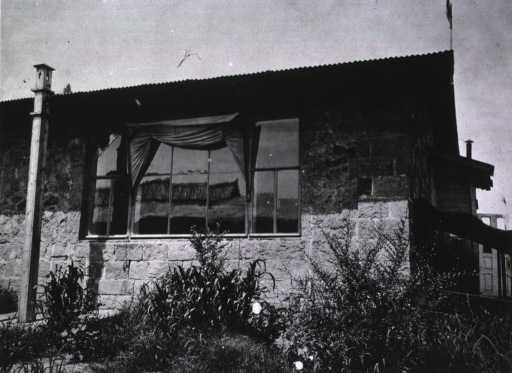 <p>The exterior of the building housing the operating room.</p>