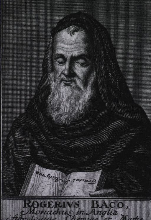 <p>Head and shoulders, left pose, full face; wearing monk's habit; holding an open book.</p>