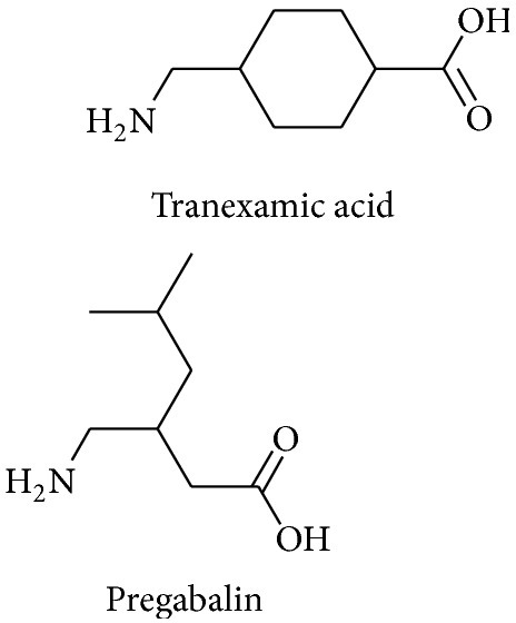 Structure of PG and TXA.