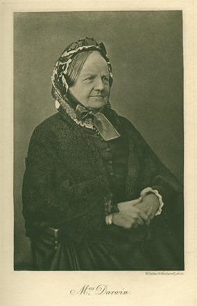 <p>Image of Emma Darwin (1808-1896) from More letters of Charles Darwin. London : J. Murray, 1903, vol. 1, opposite p. 30.</p>