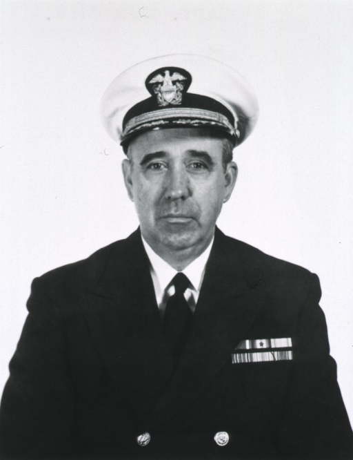 <p>Head and shoulders, full face, uniform, cap (Capt.).</p>
