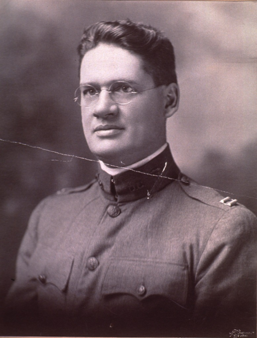<p>Head and shoulders, left pose.  In uniform of Captain.</p>