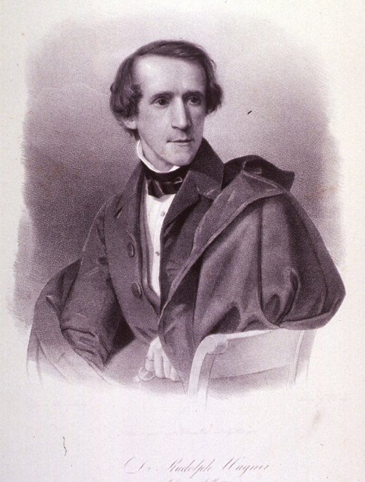 <p>Seated; half length; right pose; top coat over shoulder; hand with ring on finger holding glasses.</p>