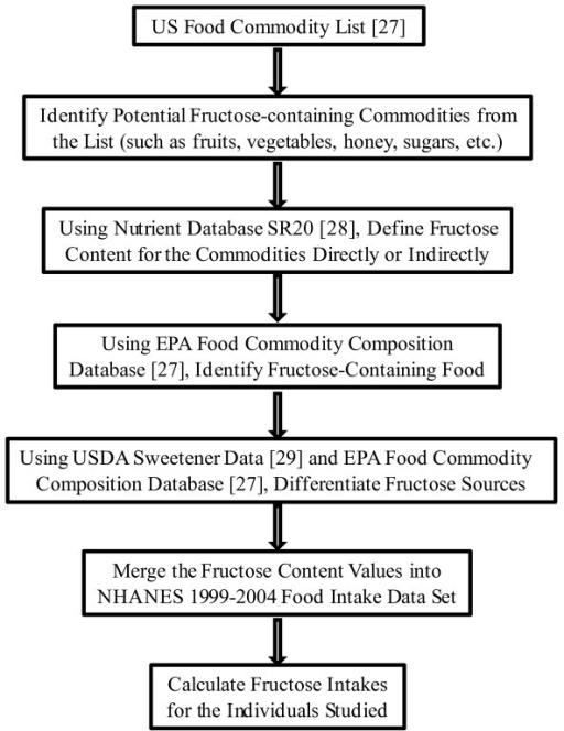 food intake chart