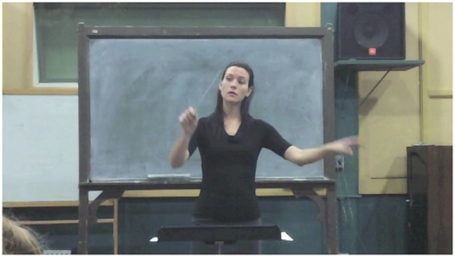 Screenshot of conductor video.