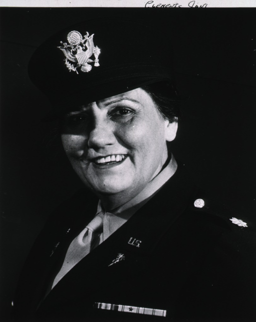 <p>Head and shoulders, full face, wearing blue dress uniform.</p>