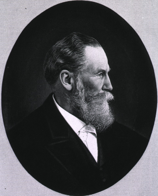 <p>Head and shoulders, right profile, as older man.</p>