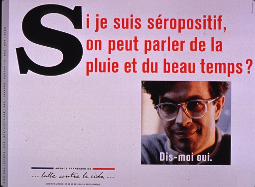 <p>Predominantly white poster with multicolor lettering.  Title at top of poster.  Visual image is a color photo reproduction featuring a young man's face.  Caption superimposed on photo encourages saying yes to the question posed in the title.  Publisher information in lower left corner.</p>