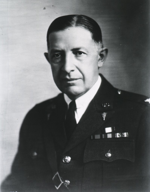 <p>Head and shoulders, front; in uniform, Col. M.C.</p>