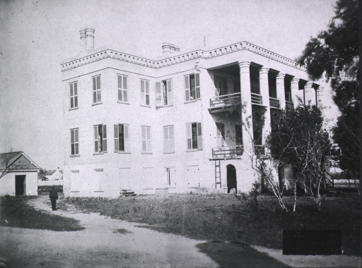 <p>A U.S. Army hospital in Beaufort S.C. for African Americans.</p>