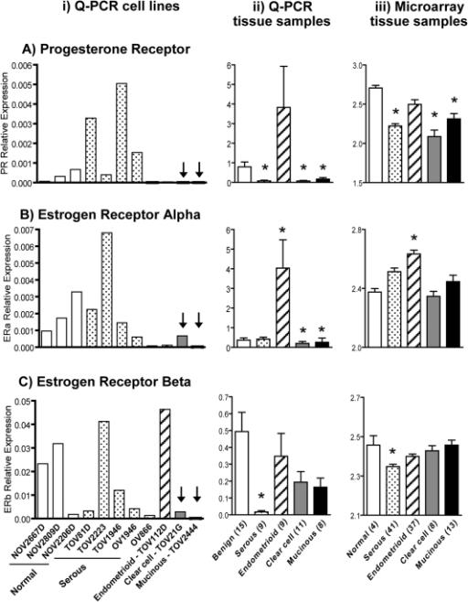 Mrna Expression Of Progesterone Receptor A And Estro Open I
