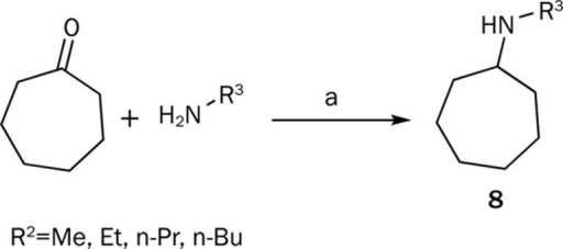 Reagents and conditions: (a) і: Ti(OiPr)4; іі: NaBCNH3.