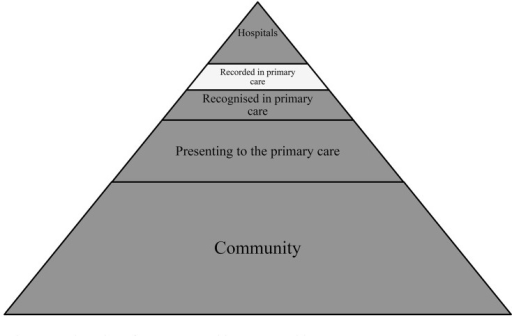Adaptation of Access to Health care pyramid.