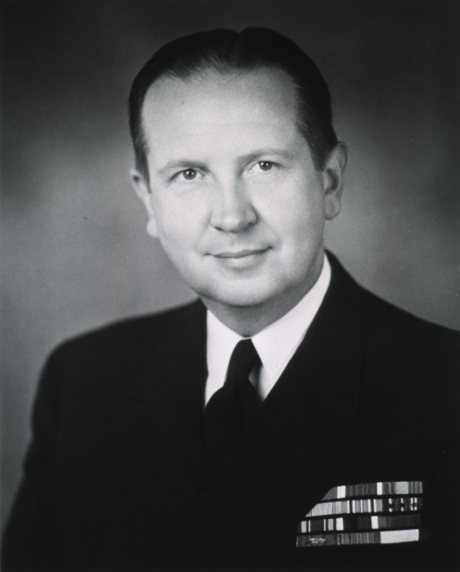 <p>Head and shoulders, full face, naval uniform.</p>
