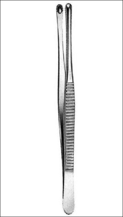 Russian forceps help to grip the valve cusps