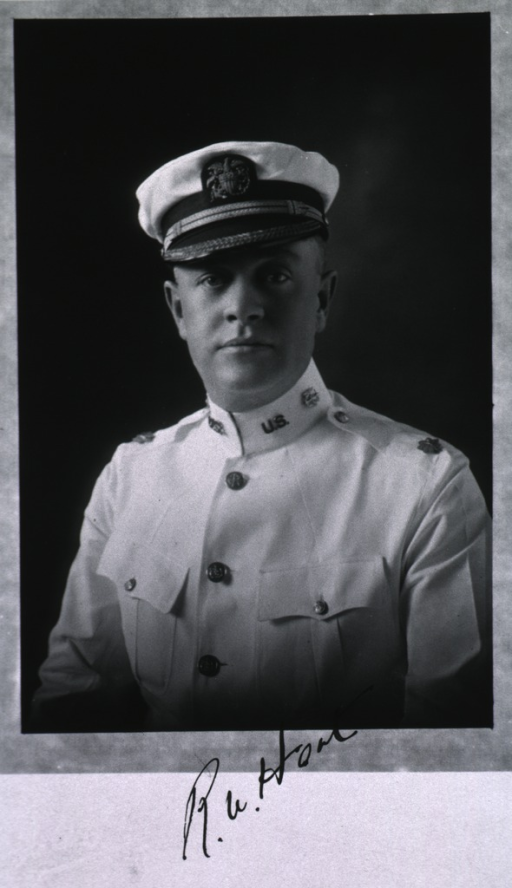 <p>Half-length, left pose, full face; wearing white USPHS uniform and cap.</p>