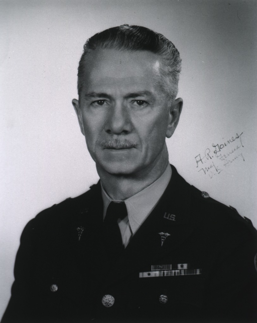 <p>Head and shoulders, left pose, full face; wearing uniform (Major General).</p>