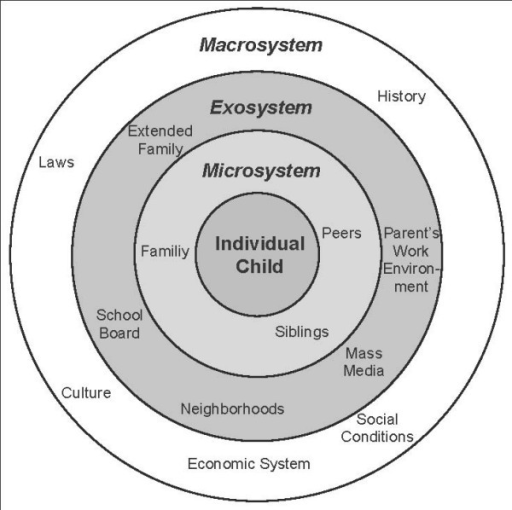 bronfenbrenner's ecological system's theory Get an answer for 'what is bronfenbrenner's ecological theory of development' and find homework help for other social sciences questions at enotes.