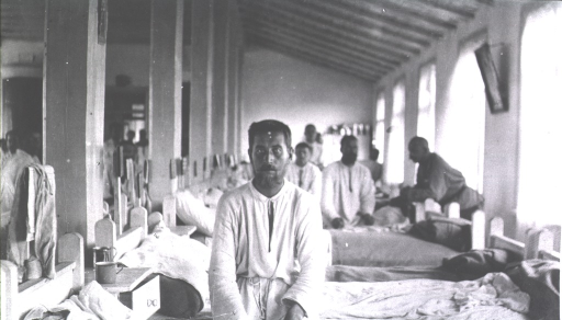 <p>Patients in a ward at Military Hospital No. 11.</p>