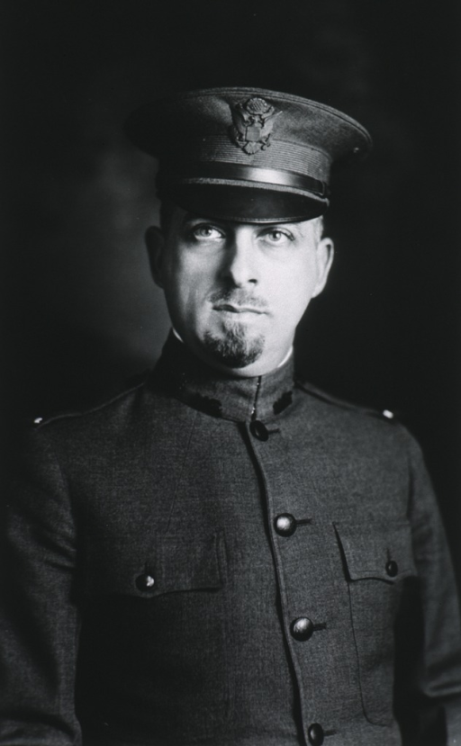 <p>Half length, front pose, in uniform of Lieut., M.C.</p>