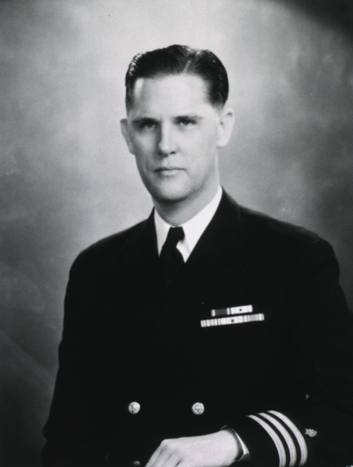 <p>Half length, front pose; in uniform.</p>