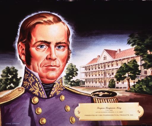 <p>Head and shoulders, full face; wearing uniform; building in background.</p>