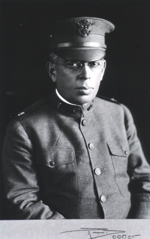 <p>Half-length, full face, wearing uniform (Major, Medical Corps).</p>