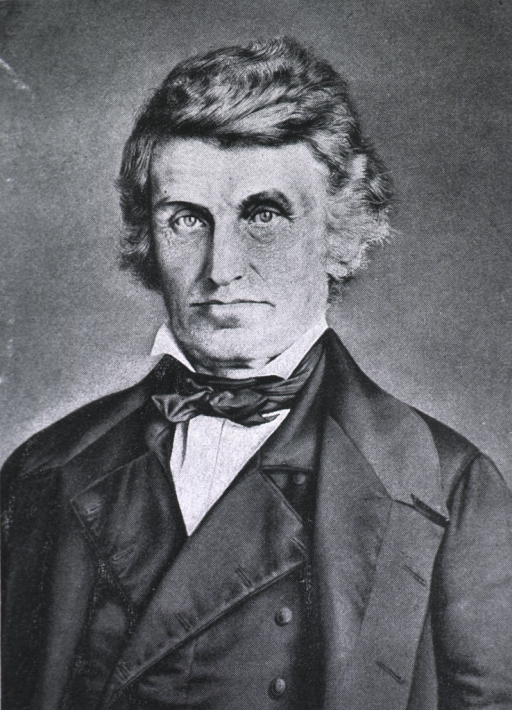 <p>Head and shoulders, full face, in his later years.</p>
