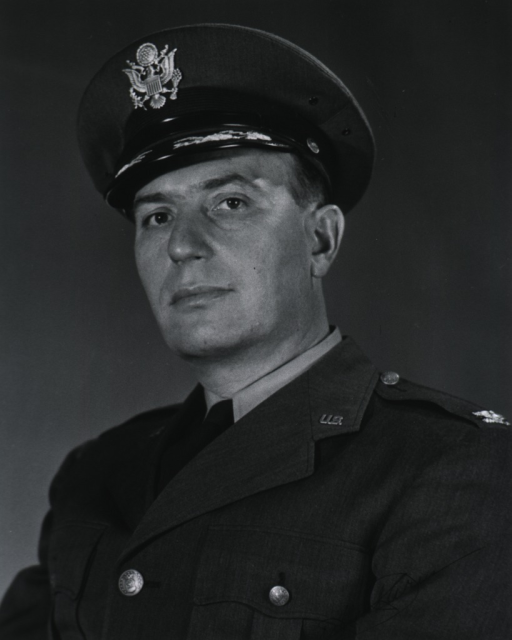 <p>Head and shoulders, left pose, full face; wearing uniform and cap.</p>