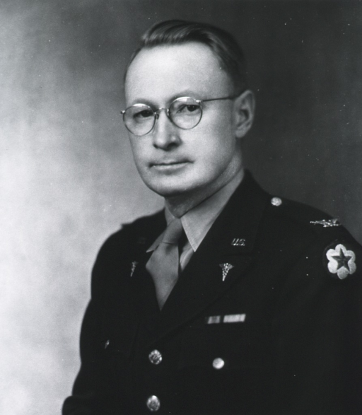<p>Half length, full face, in uniform, Colonel.</p>