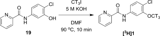Radiosynthesis of [3H]1