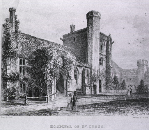 <p>Manchester School for the Deaf and Dumb with the Chapel and Blind Asylum.  Exterior view.</p>