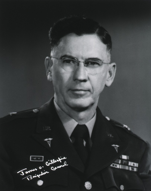 <p>Head and shoulders, full face; wearing uniform (Brigadier General).</p>