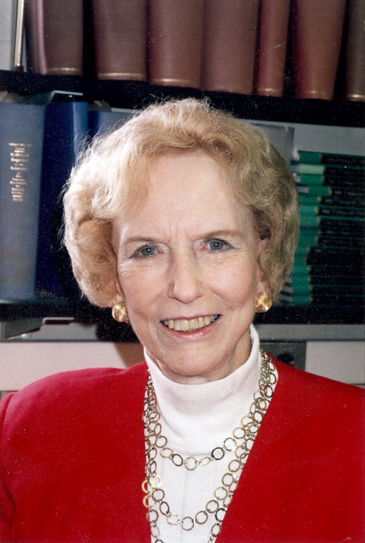 Dorothy Horstmann is pictured in her office at the Epidemiology and Public Health Laboratory Building. Though Horstmann's faculty appointment was in pediatrics and epidemiology, her office and laboratory were both located in the epidemiology department. Photo courtesy of Dr. I George Miller.