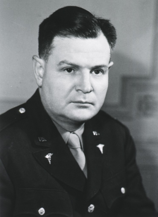 <p>Head and shoulders, right pose, full face; wearing uniform.</p>