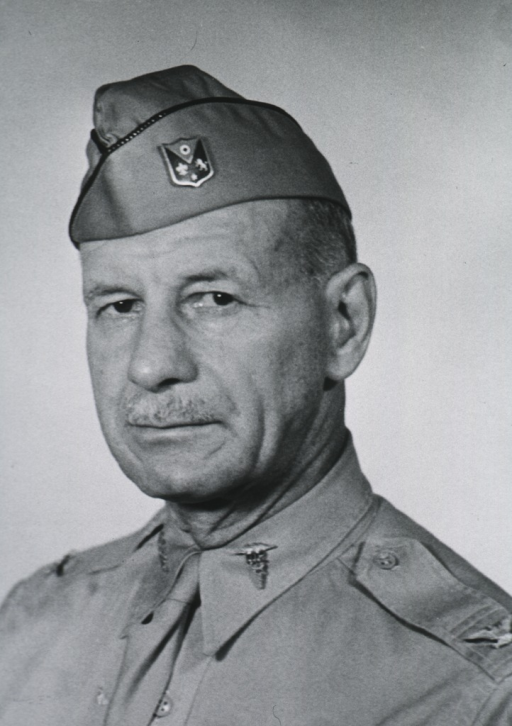 <p>Head and shoulders, left pose.  In uniform and cap.</p>