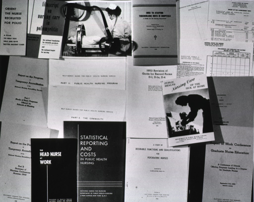 <p>View of various publications.</p>