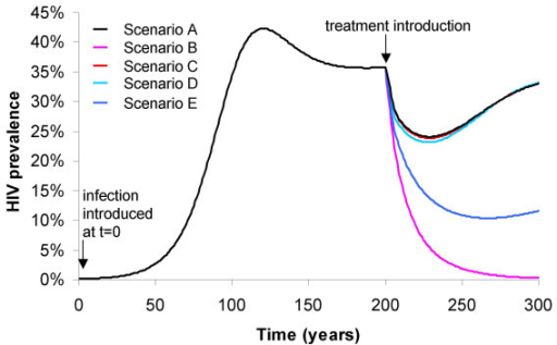 a dynamic model on the effect