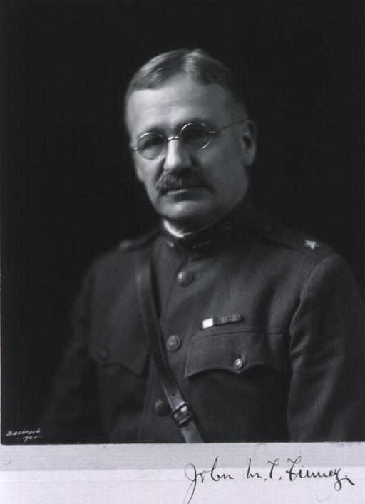 <p>Head and shoulders, full face, wearing uniform (Brigadier General).</p>