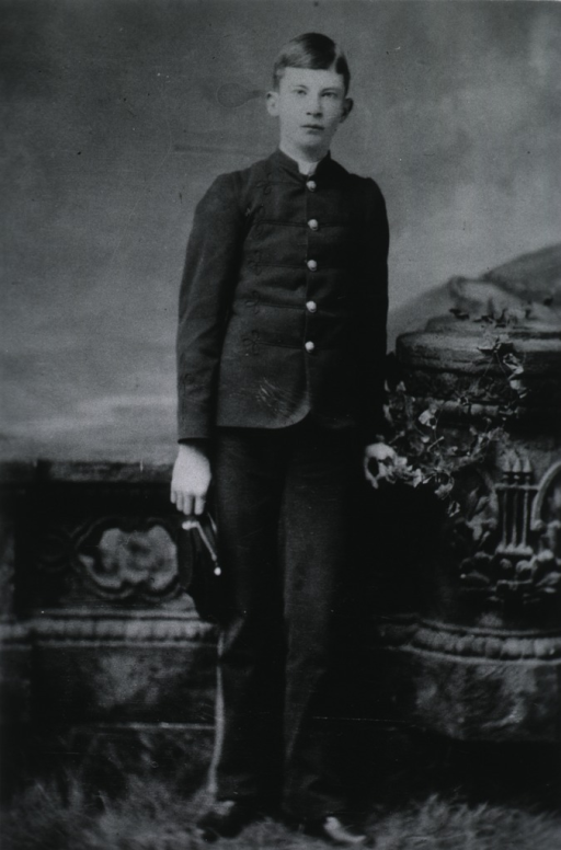 <p>Full length, standing; wearing military uniform.</p>