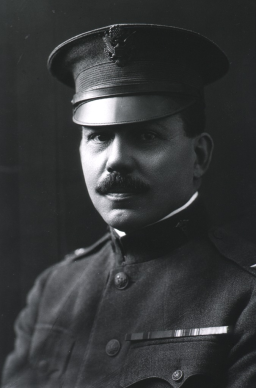 <p>Head and shoulders, left pose, face front, wearing uniform (Colonel, Med. Corps.).</p>