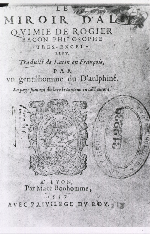 <p>Text of title page with engraved vignette showing Hermes.</p>